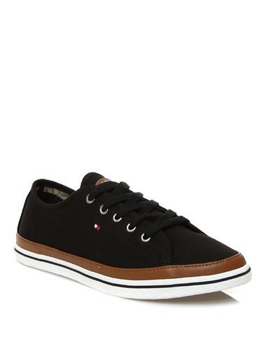 Tommy Hilfiger Tommy Hilfiger Siyah Kadın Sneaker Siyah